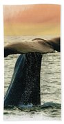 Humpback Whale Bath Towel