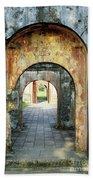 Hung Temple Arches Bath Towel