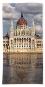Hungarian Parliament Budapest Bath Towel