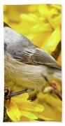 Hungry Bird Bath Towel