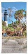 Hunting Island - Beach View Hand Towel