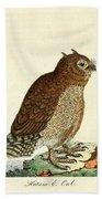 Hutum Owl  Bath Towel