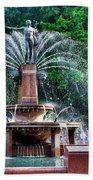 Hyde Park Fountain Bath Towel