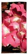 Hydrangea Flower Bath Towel