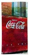 Ice Cold Coca Cola Bath Towel