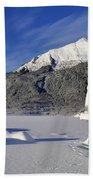 Iceberg And Mount Mcginnis Bath Towel