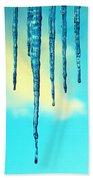 Iced Sky Bath Towel