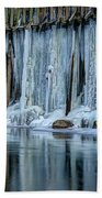Icicles 2 Hand Towel