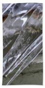 Icicles  Bath Towel