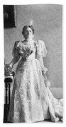 Ida Saxton Mckinley (1847-1907) Bath Towel