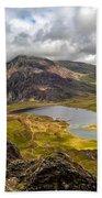 Idwal Lake Snowdonia Bath Towel