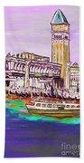 Il Campanile Di San Marco Bath Towel