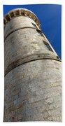 Ile De Re Lighthouse Bath Towel