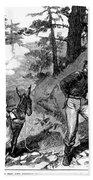 Illegal Prospecting, 1879 Bath Towel