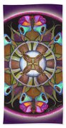 Illusion Of Self Mandala Bath Towel
