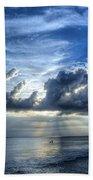 In Heaven's Light - Beach Ocean Art By Sharon Cummings Bath Towel
