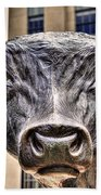 In The Eyes Of The Bull Bath Towel