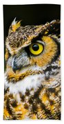 In The Eyes Hand Towel