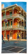 In The French Quarter - Paint Bath Towel