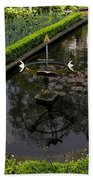 In The Heart Of Amsterdam Hidden Tranquility  Bath Towel