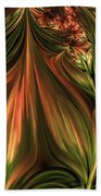 In The Midst Of Nature Abstract Bath Towel