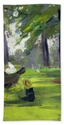 In The Park  Bath Towel