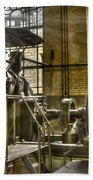 In The Ship-lift Engine Room Hand Towel