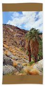 Indian Canyons View With Two Palms Bath Towel