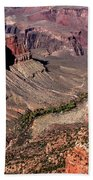 Indian Gardens In The Grand Canyon Hand Towel