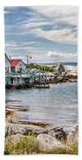 Indian Harbour Hand Towel by Gene Healy