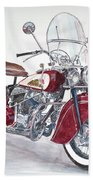 Indian Motorcycle Hand Towel