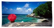 Indian Ocean Moyenne Island Seychelles Bath Towel