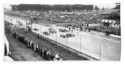 Indy 500 Auto Race Bath Towel