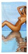 Infinity Pool Nude Bath Towel