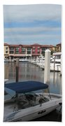 Inner Harbor - Naples Bath Towel
