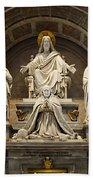 Inside St Peters Basiclica - Vatican Rome Bath Towel