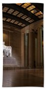 Inside The Lincoln Memorial Bath Towel