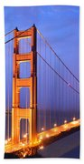 The Golden Gate Bridge Bath Towel