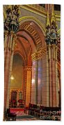Interior Of Hungarian Parliament Bath Towel