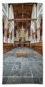 Interior Of The Oude Kerk In Amsterdam Hand Towel
