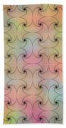 Intricacy Digital Seamless Design Bath Towel