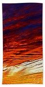 iPhone Southwestern Skies Bath Towel