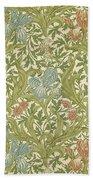 Iris Pattern Bath Towel