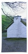 Irish Thatched Roof Cottage Bath Towel