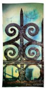 Iron Gate Detail Bath Towel