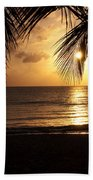 Island Sunset Bath Towel