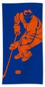 Islanders Shadow Player3 Bath Towel