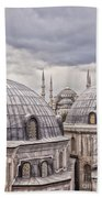 Istanbul Landmarks  Bath Towel