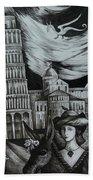 Italian Fantasies. Pisa Bath Towel