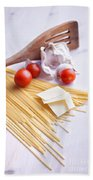 Italian Pasta Meal Bath Towel
